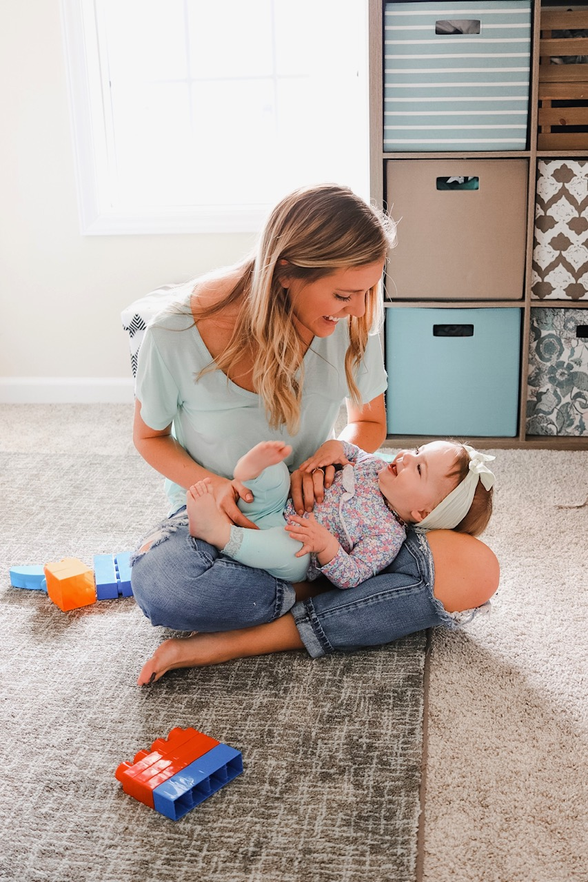 mom and baby routine