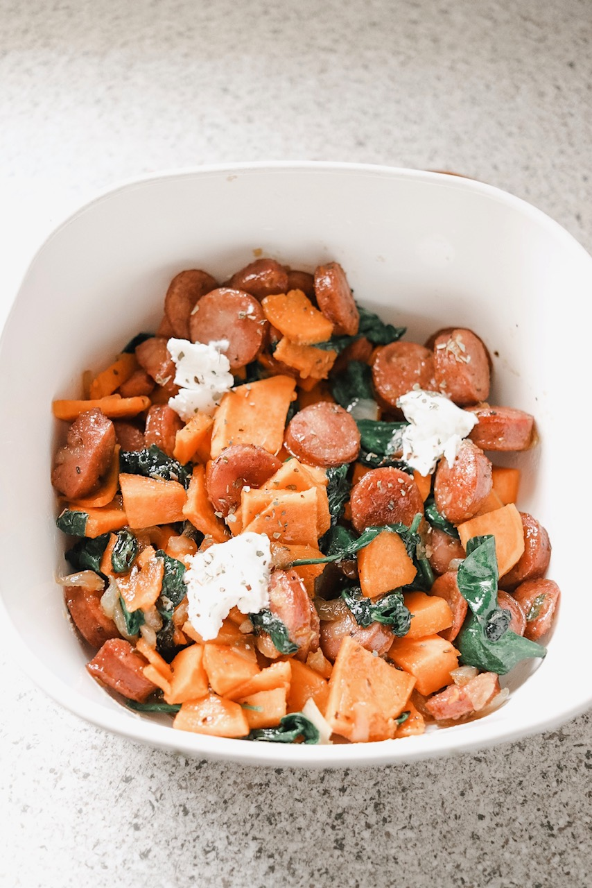 the best sweet potato hash