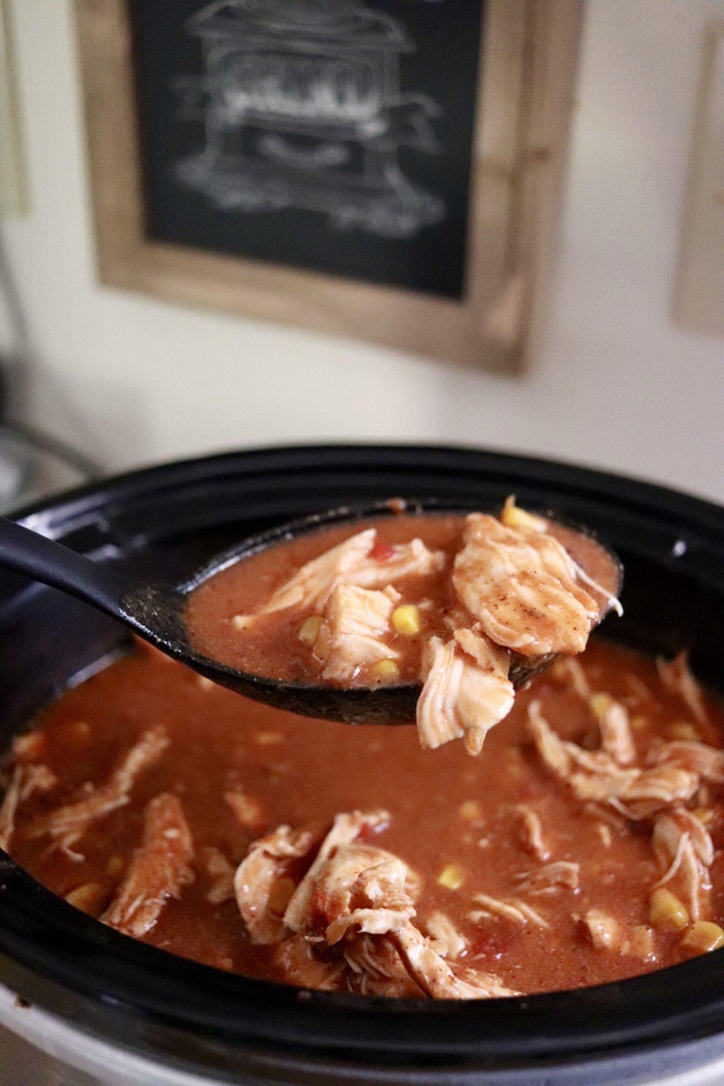 slow cooker fiesta chicken
