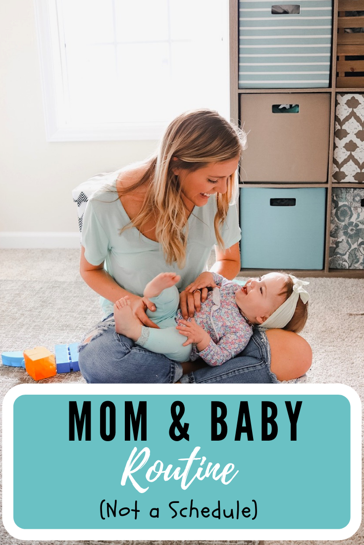 stay at home mom and baby routine