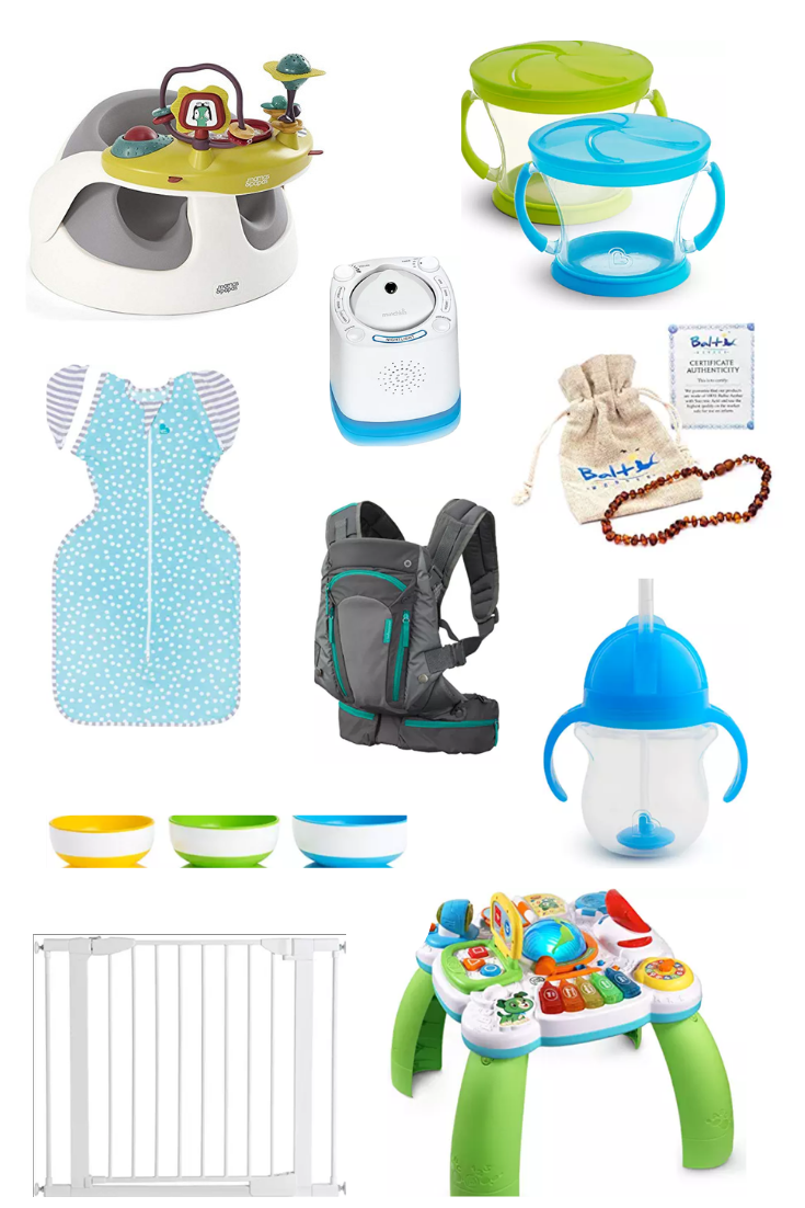 baby essentials for ages 6-12 months