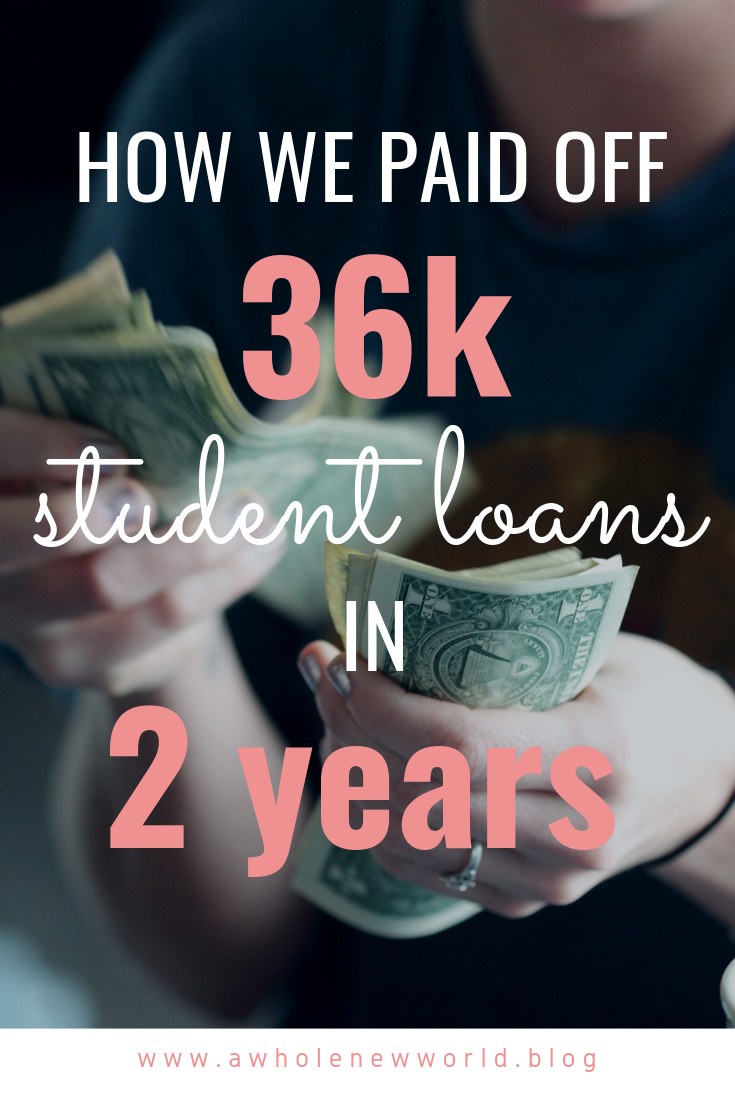 pay off student loans fast