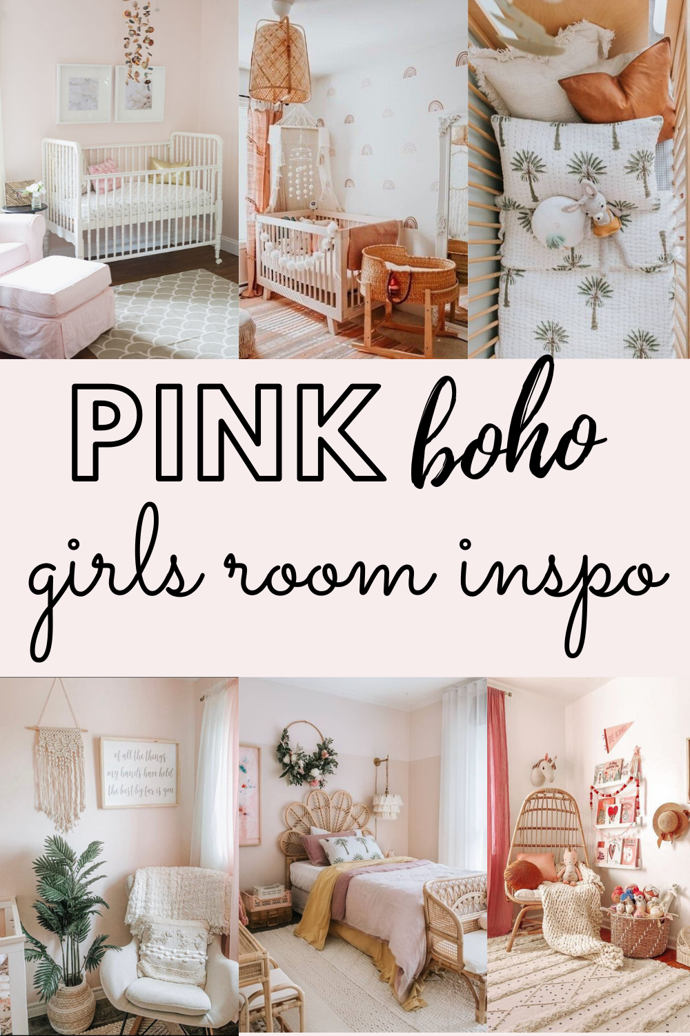boho girls room